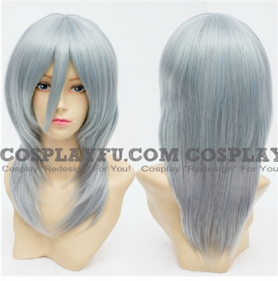 Blue Wig (Medium,Straight, L17)
