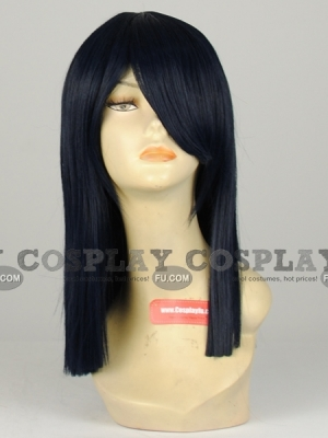 Blue Wig (Medium,Straight,Robin)