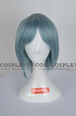 Blue Wig (Short,Straight,Sayaka CF28)