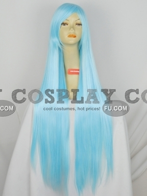 Blue Wig (Long,Straight,YuVivi CF06)