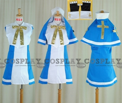 Bridget Costume (Blue) from Guilty Gear