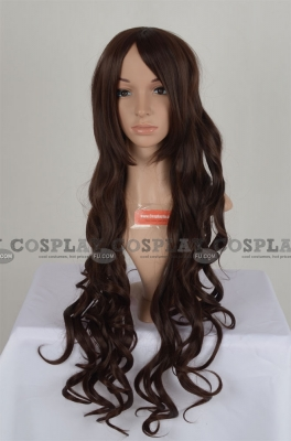Brown Wig (Long, Curly, CC)