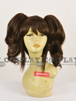 Brown Wig (Medium,Curly,Rise)