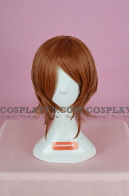 Brown Wig (Medium,Spike,Mikoto)