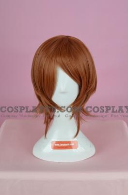 Brown Wig (Medium,Spike,Mikoto)