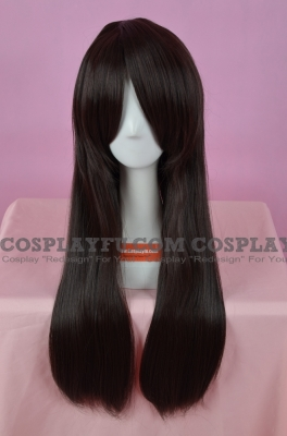 Brown Wig (Medium, Straight, Yuki)