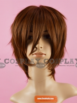 Brown Wig (Short,Spike,Okumura)