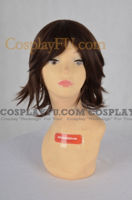 Brown Wig (Short,Spike,Yuna2)