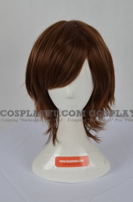 Brown Wig (Wavy,Short,Date)