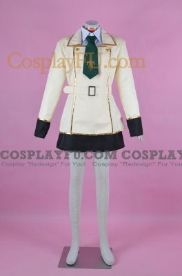 C.C. Uniform Cosplay Costume from Code Geass