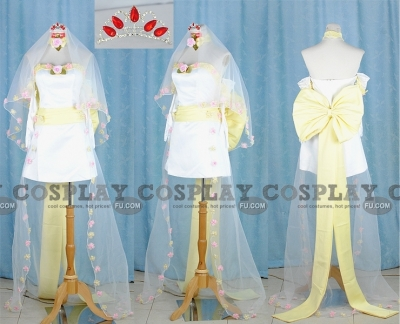 CC Cosplay (Romantic Variation Wedding Dress) from Code Geass