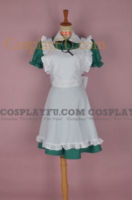 Chibitalia Cosplay (Green Dress) from from Axis Powers Hetalia