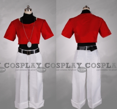 Chris Cosplay (Red) from The King of Fighters