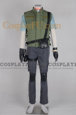 Chris Cosplay from Resident Evil