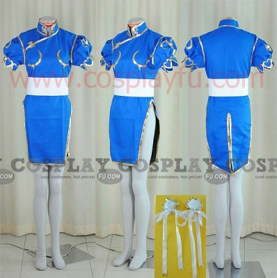 Chun Li Cosplay Costume from Street Fighter