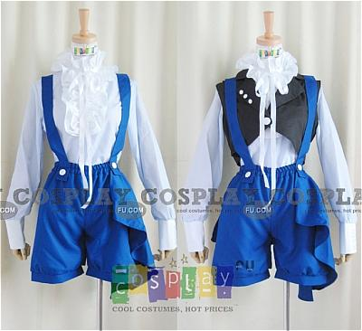 Ciel Circus Cosplay Costume from Kuroshitsuji