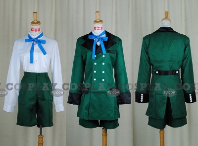 Ciel Cosplay (Green 49-001) from Kuroshitsuji
