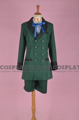 Ciel Cosplay (Green,Stock) from Kuroshitsuji