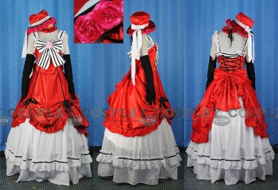Ciel Cosplay (Red Party Dress) from Kuroshitsuji