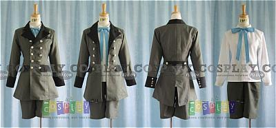 Ciel Green Cosplay Costume from Kuroshitsuji