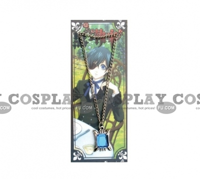 Ciel Necklace (Blue) from Kuroshitsuji