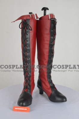 Ciel Shoes (Red) from Kuroshitsuji