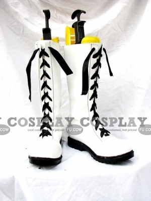 Ciel Shoes (White) from Kuroshitsuji