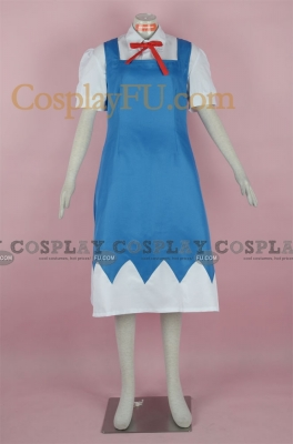 Cirno  Cosplay Costume from Touhou Project