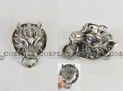 Cloud Brooch from Final Fantasy