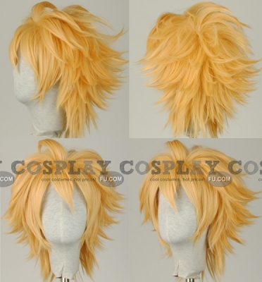 Cloud Wig from Final Fantasy