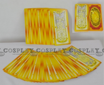 Clow Cards (Yellow) from Cardcaptor Sakura
