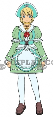 Colette Costume from Tales of Symphonia