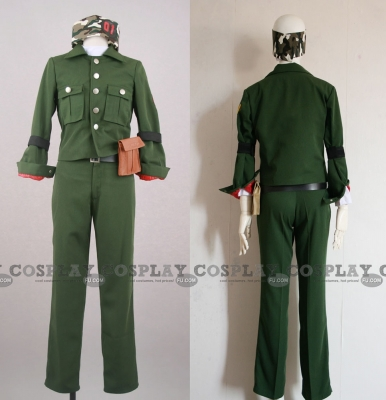 Colonnello Costume from Reborn