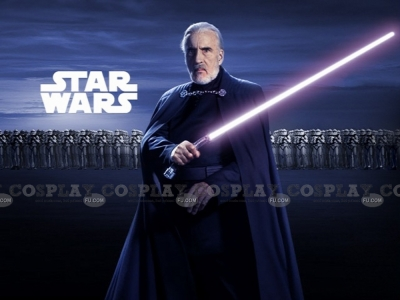 Count Dooku Cosplay from Star Wars