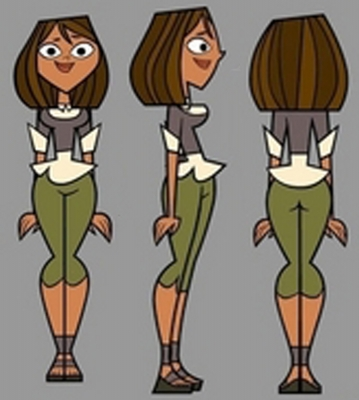 Courtney Cosplay from Total Drama