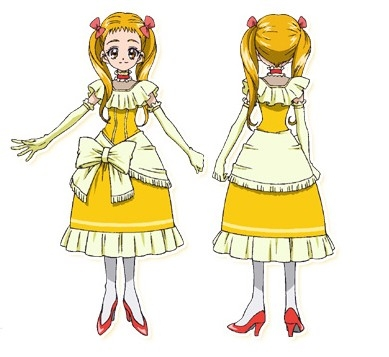 Cure Lemonade Cosplay from Yes PreCure 5