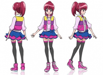 Cure Lovely Costume from HappinessCharge PreCure