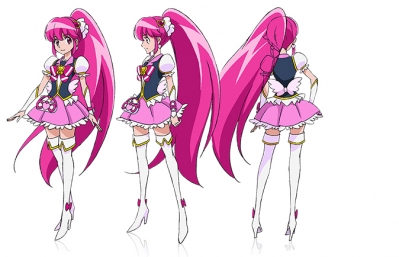 Cure Lovely from HappinessCharge PreCure