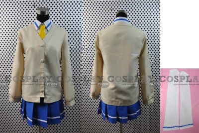 Cure Peace (School Uniform) Cosplay from Smile PreCure!