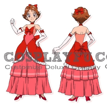 Cure Rouge Costume from Yes PreCure 5