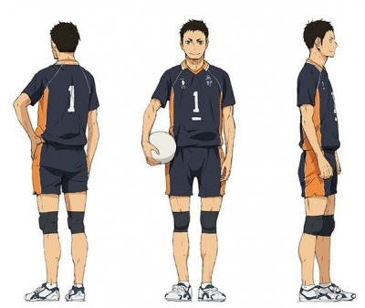 Daichi Cosplay from Haikyu