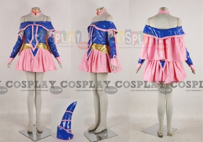 Dark Magician Girl Cosplay (Leather) from Yu Gi Oh