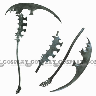 Dead Master Sickle from Black Rock Shooter