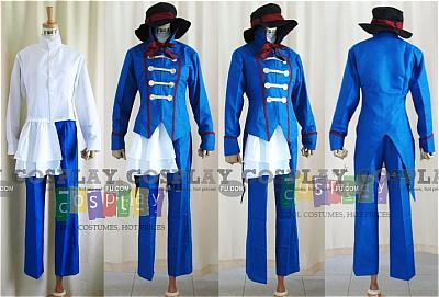 Drocell Cosplay Costume from Kuroshitsuji
