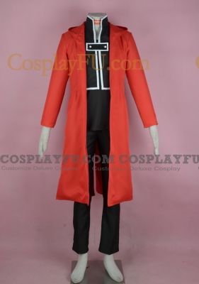 Edward Costume from FullMetal Alchemist