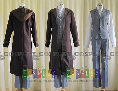 Edward Movie Cosplay Costume from FullMetal Alchemist