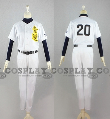 Eijun Cosplay from Fairy Tail Ace of Diamond