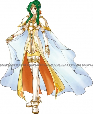Elincia Cosplay from Fire Emblem: Radiant Dawn