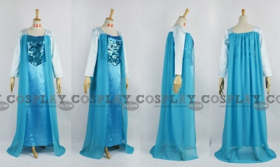 Elsa Cosplay (Blue) from Frozen