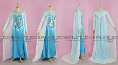 Elsa Cosplay (Blue,2nd) from Frozen